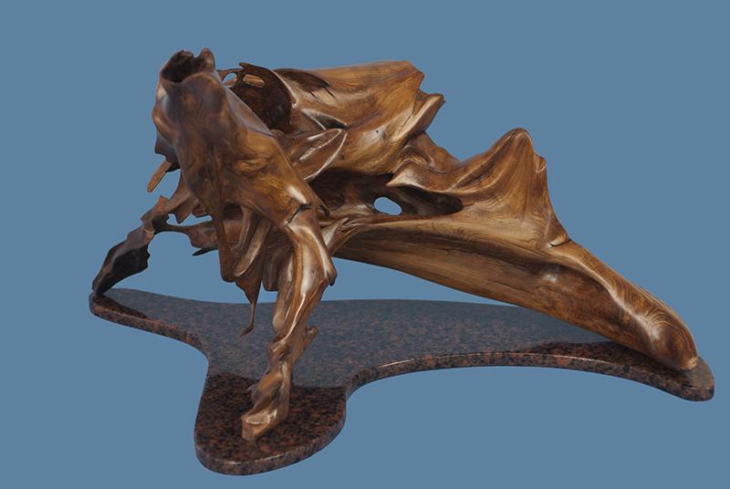Cedarian driftwood sculpture by Royce Rotmark