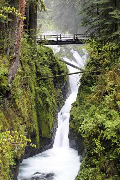 Sol Duc Falls - Waterfalls of the Olympic Peninsula