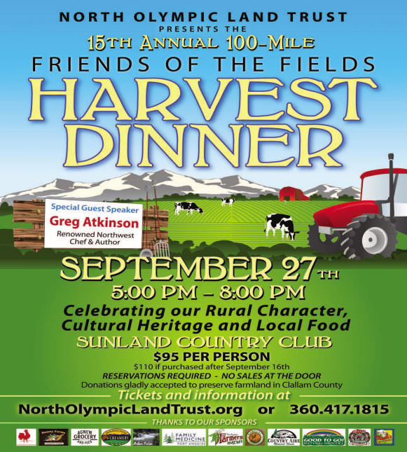 Friends of the Fields Harvest Dinner 2014